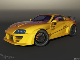Toyota Supra Tuned by cipriany