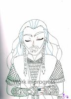 WIP - Hobbit - King Under the Mountain by YamiJay