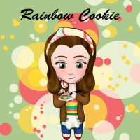 Rainbow Cookie by TaylorJSomeday