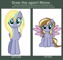 Draw this again Meme! - Firefly by MayDeeDraws