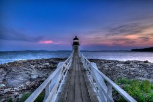 Marshall Point Light by sharktankfan
