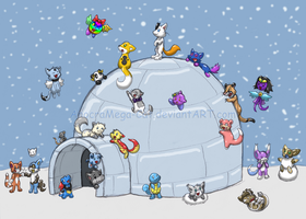 Hey, Giant Igloo Tiem by Anocra