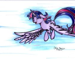 Breezy Flight by frostykat13