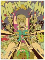 DANNY BROWN by MightyMarc