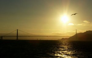 The Golden Gate by mhzdsgn