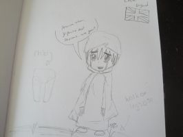 Chibi England by constantlyBuzzing