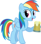 Rainbow Dash - Stay thirsty, my friends by MysteriousKaos