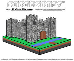 Cubeecraft - Castle by CyberDrone