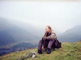 Tim in the Lake district by Willowsmummy