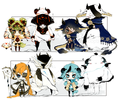 [CLOSED] ADOPT AUCTION 198 - Shadowmonster by Piffi-adoptables