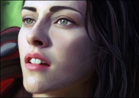 Kristen Stewart as Snow White by Uchiland