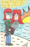 Edward And Joan At The Beach by gretzelboy89