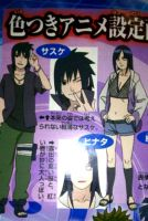 sasuke and hinata road to ninja by Bleach-Fairy