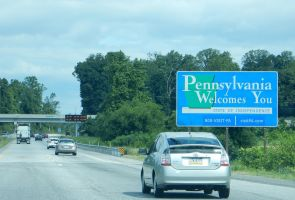 Pennsylvania Welcomes You Sign in New Freedom by rlkitterman