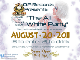 All White Party OP by Ellidegg
