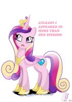 Annoyed Princess Cadence by teammagix