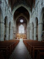 Armagh St. Patrick's Cathedral Interior by Flash-and-Flair