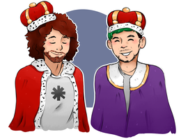 Kings of My Heart by LexisSketches