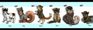 The Cats Of World War 2 by IcePawKitteh