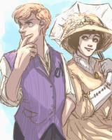 old-time classy detectives by perpetual-insomniac
