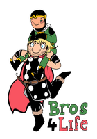 Bros before hos by Sassgardian