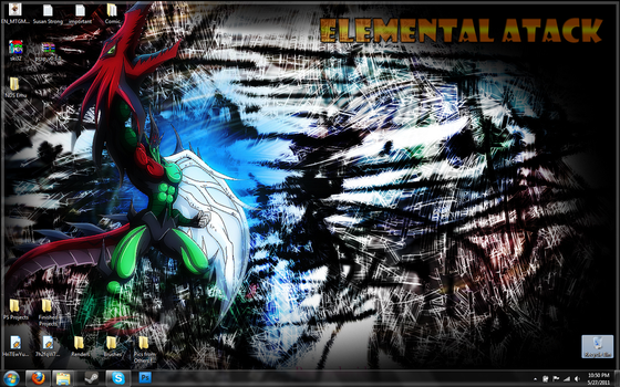 My Desktop right now. by D-to-David