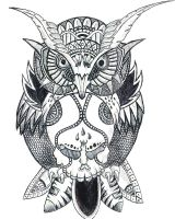Owl Tattoo by Sophies-Doodles