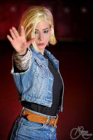 Android 18 by Mlle-Cle-Art