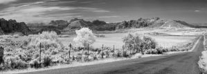 Wide Open Spaces in Infrared by eprowe