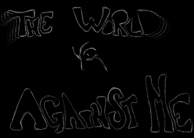 The world against me by Tahria