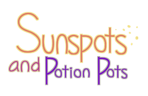 Sunspots and Potion Pots logo by MissButlerArt