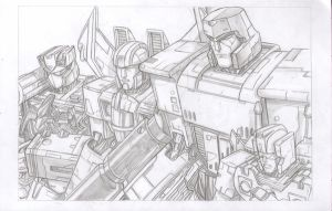 TRANSFORMERS  DECEPTICONS by 1314