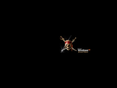 XP Pirated Edition ScreenSaver by dncube
