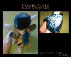 Tyrael plush by Doku-Sama