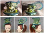 Blunt Mad Hatter Style, Mini Hat, Fascinator by AbsolutelyFascinated