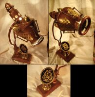 steampunk lamp by nemolight