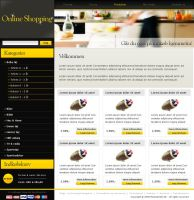Online shopping - Webshop by umaniac