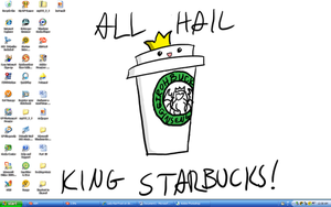 KING Starbucks by Lady-Rai-Frost
