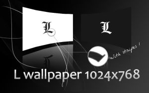 L wallpapers black and white by N-boy
