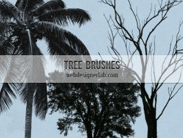 Free Tree Brushes by xara24