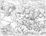 Uh-oh...Kirby Monsters! by EdMcGuinness