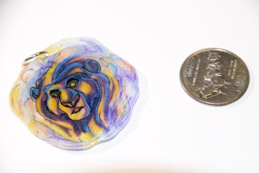 Cloud Mufasa Charm by Veszely