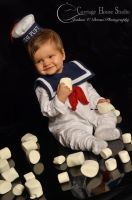 Baby Stay Puft Cosplay by Jbressi