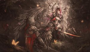 Fall of the Last Angel by shizen1102