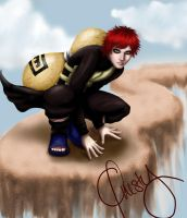 Gaara by Questofdreams