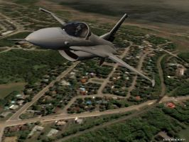 F-16 to the City by danmoore