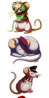 my little mice by Pyttinski