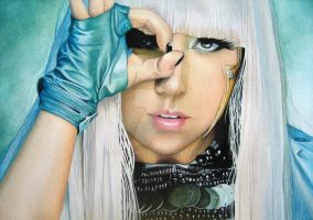 Lady Gaga from Pokerface by ohtwoakey