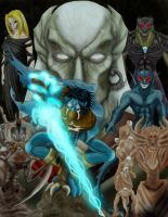 Soul Reaver collage colored by Legadema