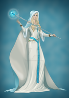 Norse Goddess of Healer - Eir by OfficalROTP